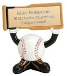 Ball Head Baseball Resin Figures Baseball Trophy Awards