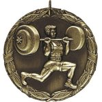 Weight Lifting Body Building Trophy Awards