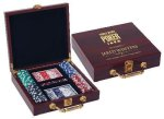 Rosewood Poker Set Game Gifts