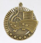 Star Music Medals Music Trophy Awards