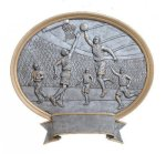 Legend Basketball Oval Award Oval Resin Trophy Awards