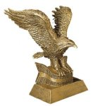 Eagle Resin Figures Patriotic Awards