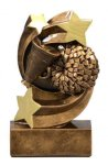 Cheer Star Swirl Award Star Swirl Resin Trophy Awards